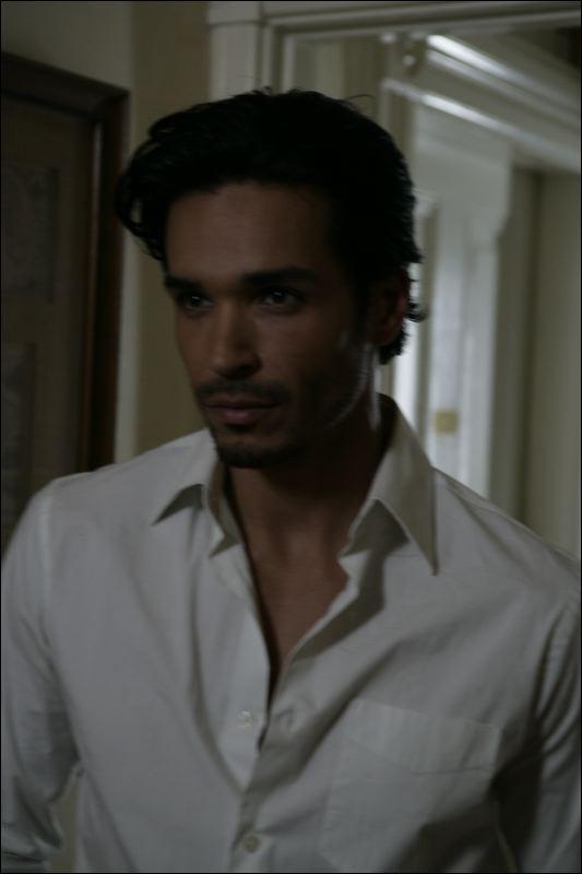 Actor Tosh Yanez - filmed at Chateau Tivoli B&B SF - David Wilson photographer